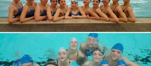 Kadetkinje Kluba sinkroniziranog plivanja Medveščak u posjeti od 10. do 15.04.2017.