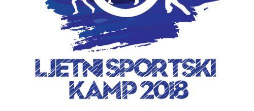 Ljetni sportski kamp 2018. – početak 02. srpnja!