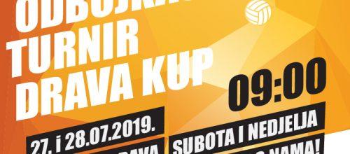 Međunarodni odbojkaški turnir Drava Kup 27. i 28.07.2019.