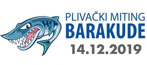Plivački miting Barakude 14.12.2019.