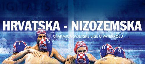 Utakmica svjetske lige u vaterpolu, Nizozemska – Hrvatska 11.02.2020